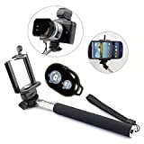 Best XCSOURCE Caméra Monopodes - Mondpalast ® Noir extensible Autoportrait photo Selfie poche Review