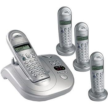 Alcatel Versatis 550 Quatro Téléphone Sans fil 4 Combinés