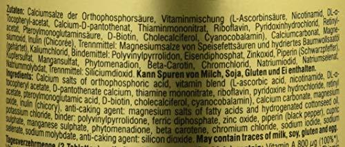 Peak VITAMINS A-Z – 180 Tabs á 750 mg – Net wt. 135g - 3