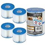 4 Cartouches de Filtration Intex pour filtre Spa - Intex TYPE S1