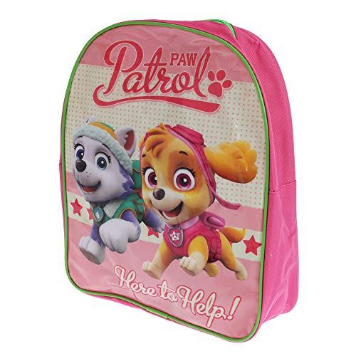 Paw Patrol Patrulla Canina - Mochila infantil con imagen de Everest y Skye (Talla Única) (Rosa)