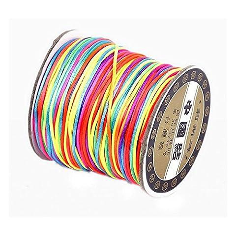 WINOMO 70M élastique Braded bobine bobine pour Bracelet