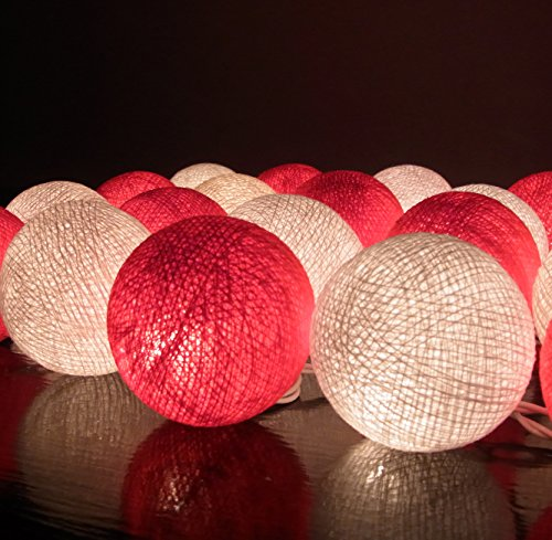 20-set-classique-boule-coton-lger-rouge-blanc-pour-nol-parti-dcor-la-maison