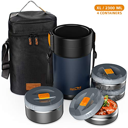Home Puff Contigo-XL Lunch Box Stainless Steel Vacuum Insulated with...