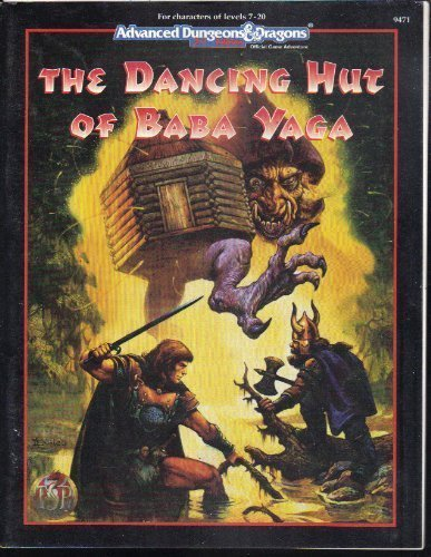 Dancing Hut of Baba Yaga (Advanced Dungeons & -