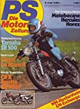 PS Die Motorrad Zeitung Nr. 06/1979 Weltanschauung Yamaha SR 500