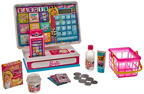 JP Barbie Sparkle and Shine Caja Registradora