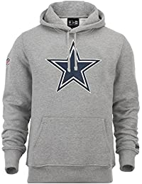 "New Era ""NFL Team Logo Dallas Cowboys"" Hoodie - heather grey"