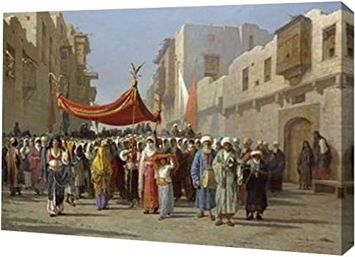 printart einer arabischen Hochzeit Prozession, 20