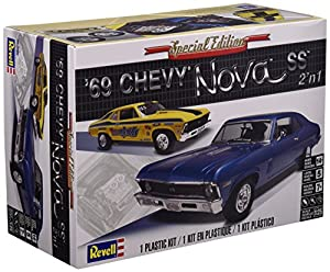 Revell-1969 Chevy Nova SS,Escala 1:25 Kit de Modelos de plástico, (12098)