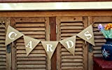 Hochzeit Karte banner-wedding Empfang burlap-mini Karte sign-party Event Hochzeit banner-card burlap-reception Karte banner-card Snackverpackung Karte Hochzeit Banner