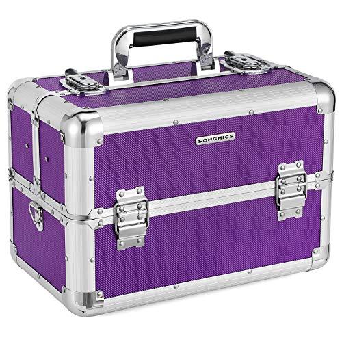 SONGMICS Beauty Case Cofanetto Trucco Make Up Bagaglio Valigia JBC228P