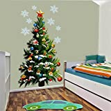 45*82cm albero di Natale a parete vinile adesivo rimovibile adesivi parete parete Home Decor e Poster