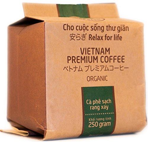 VietBeans – Hello5 Organic gemahlener Röstkaffee – Organisch angebauter vietnamesischer Kaffee...