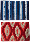 #6: Story @ Home Set Of 2 Pcs Doormat Red and Blue