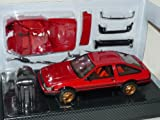 DISM Toyota Corolla Levin Ae86 AE 86 1983 Rot Coupe 1/24 Hot Works Racing Modellauto Modell Auto Sonderangebot