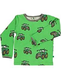 74e6291a4 Smafolk - Camiseta de Manga Larga - para niño