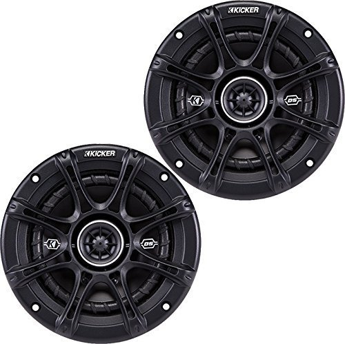 "kicker dsc65 (41dsc654) 6 1/2"" d-series coaxial 2-way speaker with 1/2"" tweeter Kicker DSC65 (41DSC654) 6 1/2″ D-Series Coaxial 2-Way Speaker With 1/2″ Tweeter 511YiXzUElL"