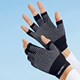 Vital-Handschuhe, 1 Paar, wärmende Handschuhe ohne Fingerspitzen, Fitness, körpereigene Wärme reflektierend, Einheitsgröße Body Hand