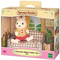 Sylvanian Families Chocolate Rabbit Father Set Doll -sf5013