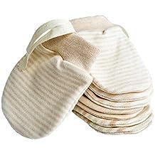 Neugeborene F/äustlinge keine Kratzer Baby F/äustlinge Handschuh aus Bio-Baumwolle f/ür Kinder 0-6 Monate unisex Babyhandschuhe