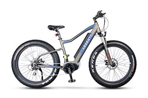 Argento Elephant PRO, Bicicletta Unisex – Adulto, Blu, Telaio 46 cm