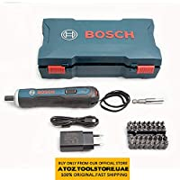 ORIGINAL BOSCH Go 3.6V Smart Cordless Screwdriver Set 33Bit Set and BOSCH Electric Screwdriver 3.6V Smart 6 Modes Adjustable Torques Cordless Rechargeable Screwdriver Tool Kits (Bosch 3.6v 33 bit set)