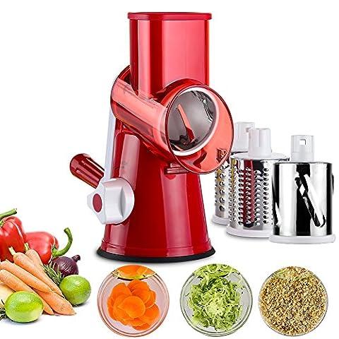 Gemüse, Mandoline Chopper, uptink 3-blades Küche Spirale Schneide, effizient und
