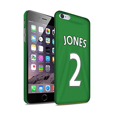 Officiel Sunderland AFC Coque / Clipser Matte Etui pour Apple iPhone 6+/Plus 5.5 / Pack 24pcs Design / SAFC Maillot Extérieur 15/16 Collection Jones