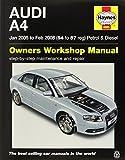 Audi A4 Petrol & Diesel (Jan 05 to Feb 08) Haynes Repair Manual (Haynes Service and Repair Manuals) by Anon (2015-01-08)