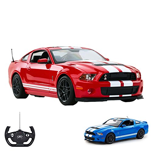 Ford Mustang Shelby GT500 - RC ferngesteuertes Lizenz-Auto im Original-Design, Modell-Maßstab 1:14, Ready-to-Drive inkl. Fernsteuerung