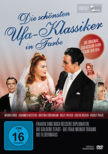 Die schönsten UFA - Klassiker in Farbe [4 DVDs]