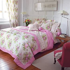 laura ashley ripley rose bettw sche 135x200 80x80 mit rei verschluss wendedesign. Black Bedroom Furniture Sets. Home Design Ideas