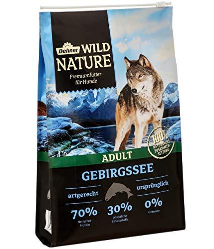 Dehner Wild Nature Hundetrockenfutter Adult, Gebirgssee, 4 - Fische Hundefutter