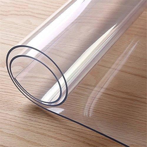 redondo de plástico transparente mantel de cocina a prueba de agua pvc...