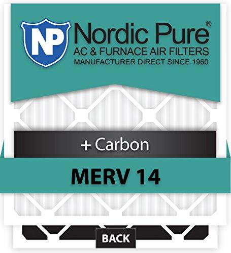Ofen-air-hepa-filter (Nordic Pure 17x 21x 1exactcustomm14+ C-6Merv 14+ Carbon AC Ofen Filter, 6Stück)