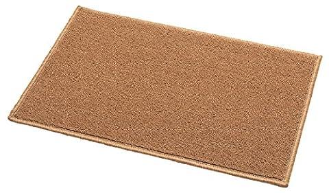 Addis Calderdale Fußmatte mit strapazierfähig 100Prozent PP Teppich Weave, natur, 60x 40cm