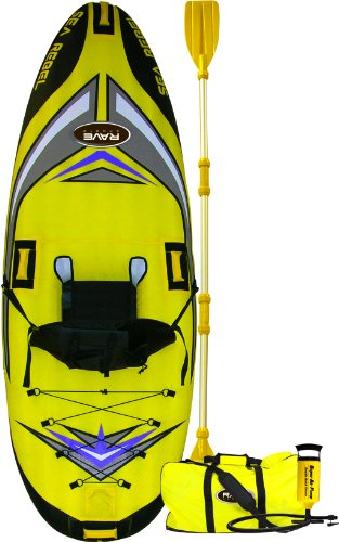 511YrvXQWjL - RAVE SEA REBEL INFLATABLE KAYAK