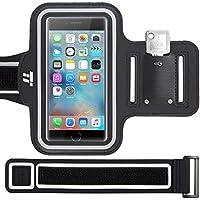 TaoTronics Brassard de sport Smartphone Résistant à l'eau avec Bande d'Extension et Range-clés pour iPhone 8 / 7 / 6S / SE, Galaxy S7 jusqu'à 5.1'' – Pour course, vélo, randonnée & marche