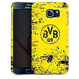 DeinDesign Samsung Galaxy S6 Hülle Premium Case Cover Borussia Dortmund BVB Fanartikel