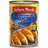 Julien Mack 6 Quenelles de Brochet Sauce Crevette 400 g