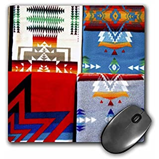3dRose mp_94309_1 8 x 8-Inch Sd, Prairie Edge Trading Co, Native American - Us42 Cmi0129 - Cindy Miller Hopkins Mouse Pad