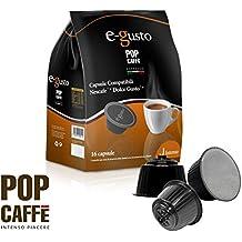 Pop Caffè - 160 cápsulas E-gusto, mezcla 1 intenso, compatibles con Nescafé