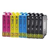 10 Stück Epson 29 XL Druckerpatronen mit Chip Kompatibel für Epson Expression Home XP-235 XP-240 XP-245 XP-247 XP-330 XP-332 XP-335 XP-340 XP-342 XP-345 XP-430 XP-432 XP-435 XP-440 XP-442 XP-445