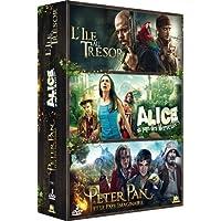 Contes : L'Île au trésor + Alice au pays des Merveilles + Peter Pan et le Pays Imaginaire