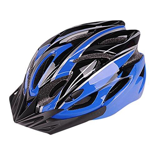 Fahrradhelm, Gusspower Unisex Erwachsenen Leichtgewicht Schutzhelm Fahrrad Helm mit 21 Belüftungsöffnungen, abnehmbare Visier und Einstellbares Radsystem Fur Herren...