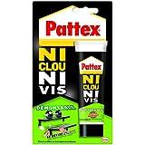 "Pattex Tube de Colle ""Ni clou ni vis"" Démontable - 100 g - Blanc"