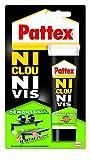 Pattex Kontaktklebstoff (100g-Tube, demontierbar, keine Schrauben, keine Nägel)