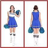 HJG Musikfest-Uniform-Abendkleid, Sexy Uni-Highschool Cheerleader Kostüm-Ausstattungs-Frauen