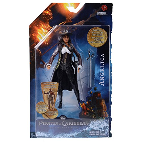 Pirates of the Caribbean Fluch der Karibik 4 - Angelica Actionfigur, (Karibik Der Angelica Fluch)